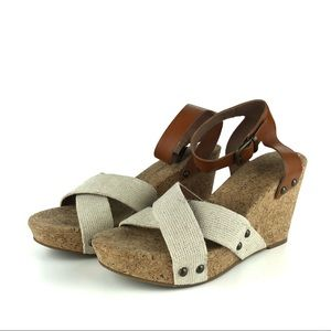 Lucky Brand Shoes - Lucky Brand Morrys Cork Wedges